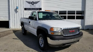 2001 GMC 2500 REGULAR CAB LONG BOX WITH ONLY 119K!