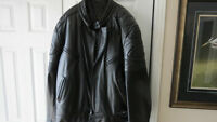 Mens Wolff Custom Made Leather Motorcycle Jacket