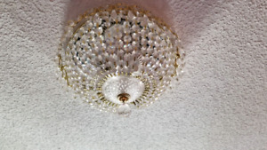 Swarovski Crystal Chandelier Ceiling lamp with LED bulbs