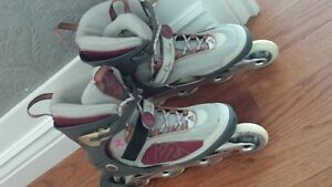 *Ladies K2 RollerBlades for Sale. Size 9/10*inc all pads**