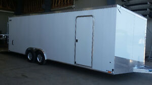 8.5X24 Enclosed Carhauler