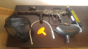 Paintball set