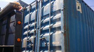 """USED STORAGE CONTAINER FOR SALE IN GRADE """"A"""" CONDITION Cornwall Ontario image 3"""