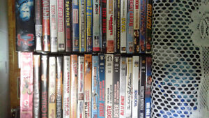 Westerns and mixed dvds