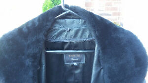 Men's Leather Coat Versace Style from Dimitri Leather