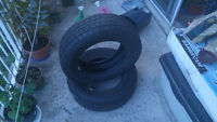 Full set of Mint Condition 16.5 in. Winter tires for sale Watch|