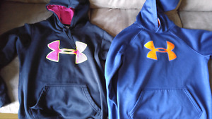UnderArmour hoodies youth size
