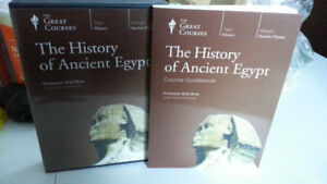 The History of Ancient Egypt -- 8 DVD + guidebook