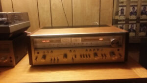 Nice Vintage Pioneer sx 950 Reciever and Cassette deck