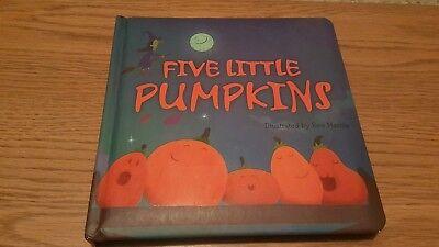 Halloween Themed Books ( Five Little Pumpkins by Ben Mantle (Tiger Tales) Halloween themed)