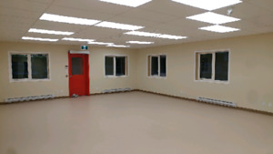 Office or retail space available now