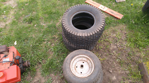 4 turf saver tractor tires