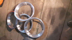 Stainless trim rings