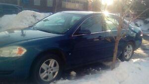 2007 CHEVROLET IMPALA QUEBEC PLATED 1500$ ,EXCELLENT CONDITION