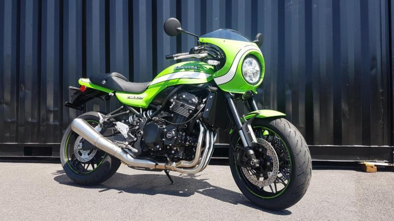 Brand New 2018 Kawasaki Z900RS Cafe Racer Modern Retro Motorcycle
