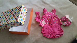 BRAND NEW Gymboree baby girl summer GIFTSET (3-6 months)