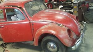 wanted vw beetle, bus, type 3,  even parts