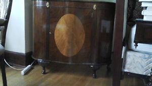 Antique 1930's english drinks cabinet