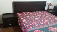 King Size complete bedroom set with mattress