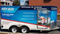 Nettoyage de conduits de ventilation PROMO (échangeur d'air)