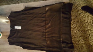 Kenneth Cole large ladies silky top - tag still on
