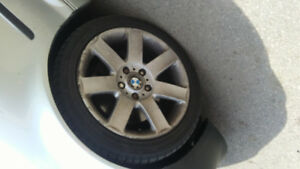 Used bmw rims and winter tires