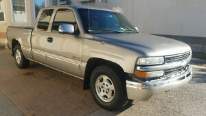 2001 Chevrolet Silverado 1500 Longbox with New Winter Tires