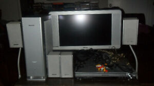 Panasonic & Philips Complete Home Theatre System.