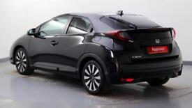 2017 Honda Civic 5-Door 1.8 i-VTEC SR Petrol black Automatic