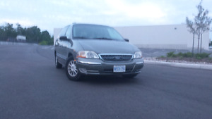 FORD WINDSTAR SEL MINIVAN WITH E-TEST