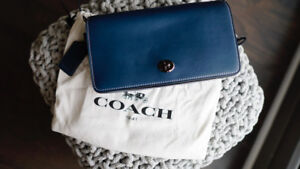 COACH Dinky Crossbody - Glovetanned Leather, Brand New, Unused