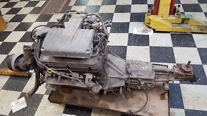 5.0 litre H.O. engine