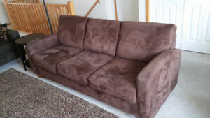 Microfibre Brown Couch