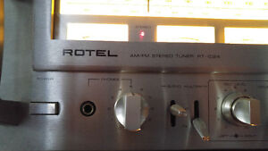 Vintage Rotels  RA1412amp  and RT1024 tuner Peterborough Peterborough Area image 3