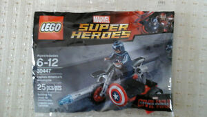 Lego (30447) Captain America's Motorcycle
