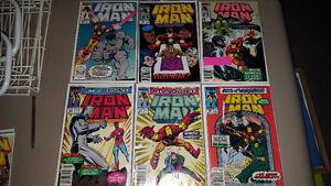 Marvel IRON MAN Lot 45 Comic Books    Tony Stark       Avengers