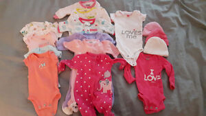 Newborn Carters Girl Clothing