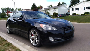 Genesis Coupe 3.8 Track Edition. Manual. Many upgrades.