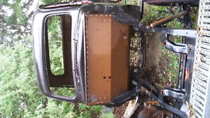 1951 ford mercury pickup cab and frame