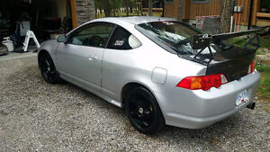 2002 Acura RSX Type S - with extra hood, hatch, stereo, etc.