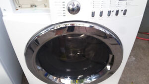 FRIGIDAIRE WASHER  5 CUBE   &  ELECTRIC DRYER   WORKS