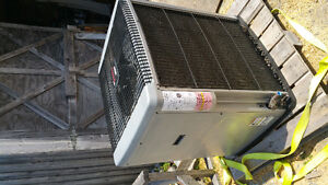 Coleman ducted central heat pump