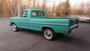 1969 Ford F-100 Pickup Truck - Great Shape - $16,000 Certified