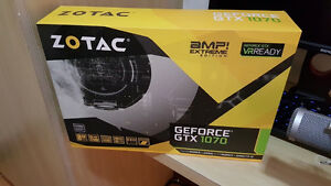 ZOTAC GeForce® GTX 1070 AMP Edition pre-owned