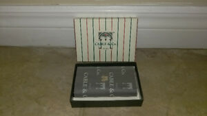 NEW Limited Edition Cable & Co.Leather Key Holder in BOX