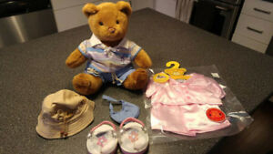 Build A Bear Classic Teddy w/ accessories