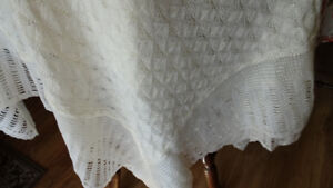 Baby shawl made in Scotland by Donbros
