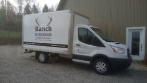2015 Cube Ford Transit 250 Boite 12 pieds