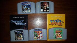 6 N64, 7 Gamecube Games, 6 Wii Games & 2 WiiU Games NINTENDO