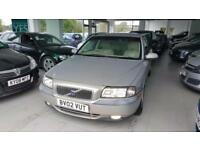 2002 VOLVO S80 S Gold Manual Petrol